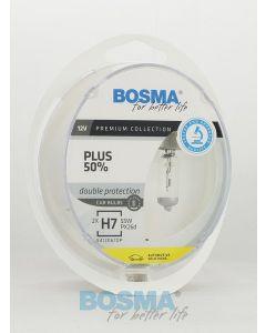 BOSMA PLUS 50% H7 12V 55W PX26D (2SZT.)
