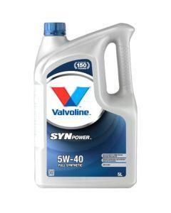 VALVOLINE SYNPOWER 5W40 5L