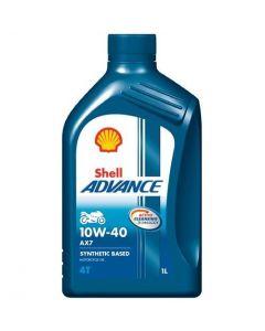 OLEJ SHELL ADVANCE 4T AX7 10W40 1L