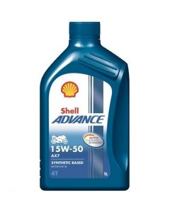 OLEJ SHELL ADVANCE 4T AX7 15W50 1L
