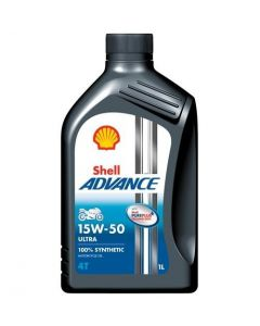 OLEJ SHELL ADVANCE 4T ULTRA 15W50 1L