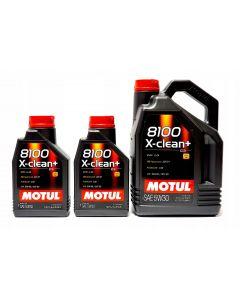 MOTUL 8100 X-CLEAN+ 5W30 7L