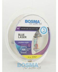 BOSMA BLUE LASER H4 12V 60/55W P43T (2SZT.)