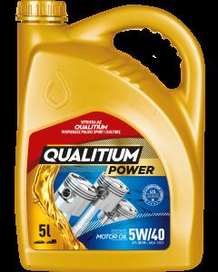 OLEJ QUALITIUM POWER 5W40 5L