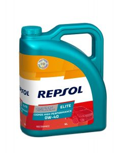REPSOL COSMOS ELITE HIGH PERFORMANCE 0W40 5L
