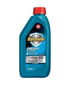 TEXACO HAVOLINE ENERGY 0W30 1L