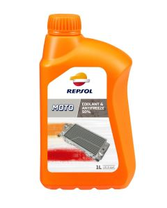 REPSOL MOTO COOLANT & ANTIFREEZE 50% 1L