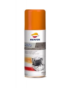 REPSOL MOTO DEGREASER & ENGINE CLEANER 300ML