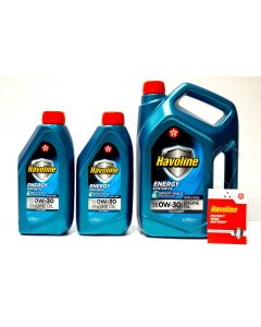 TEXACO HAVOLINE ENERGY 0W30 6L