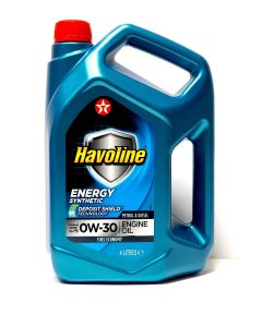 TEXACO HAVOLINE ENERGY 0W30 4L