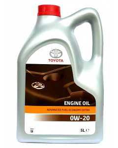 OLEJ TOYOTA ENGINE OIL ADVANCED FUEL ECONOMY 0W20 5L