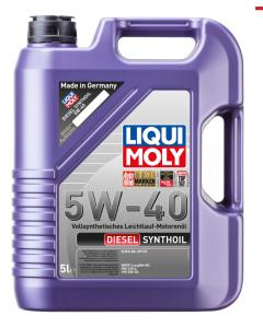 LIQUI MOLY DIESEL SYNTHOIL 5W40 5L