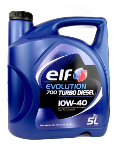 OLEJ ELF EVOLUTION 700 TURBO DIESEL 10W40 5L